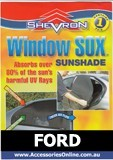 FORD WINDOW SOX ® CAR WINDOW SUN SHADES