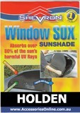 HOLDEN WINDOW SOX ® CAR WINDOW SUN SHADES