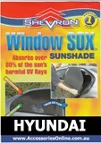 HYUNDAI WINDOW SOX ® CAR WINDOW SUN SHADES