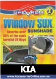 KIA WINDOW SOX ® CAR WINDOW SUN SHADES