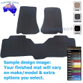 FORD TERRITORY [SZ] 3/2011 to 10/2016 FRONT & REAR Tailored floor mats