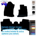 TOYOTA FORTUNER [GUN156R] 10/2015 onwards FRONT & REAR Tailored floor mats
