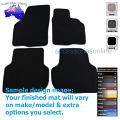 VOLKSWAGEN JETTA [Mk6] (1B) 8/2011 to 12/2017 FRONT & REAR Tailored floor mats