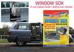 XL WINDOW SOX CAR SUN SHADES SUIT PEOPLE MOVERS / SLIDING DOOR MODELS
