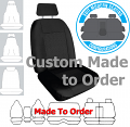WEEKENDER JACQUARD car seat covers BLACK Size CUSTOM MADE *Free Shipping