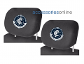 AFL CARLTON BLUES car Headrest Covers