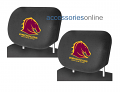 NRL BRISBANE BRONCOS car Headrest Covers