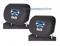 AFL GEELONG CATS car Headrest Covers