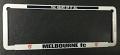 AFL MELBOURNE DEMONS number plate frame