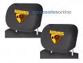 AFL HAWTHORN HAWKS car Headrest Covers