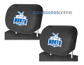 AFL NORTH MELBOURNE KANGAROOS car Headrest Covers