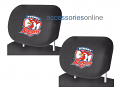 NRL SYDNEY ROOSTERS car Headrest Covers