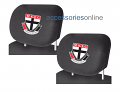AFL ST KILDA SAINTS car Headrest Covers