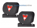 AFL SYDNEY SWANS car Headrest Covers