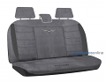 RM WILLIAMS CAR SEAT COVERS GREY SUEDE VELOUR REAR Size 06 *FREE SHIPPING